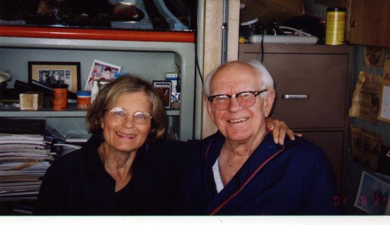 Nancy_Spaeth_and_Dr._Belding_Scribner_Fall_2001